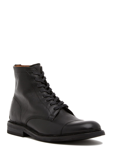 Incaltaminte Barbati Frye Seth Leather Lace-Up Boot BLACK