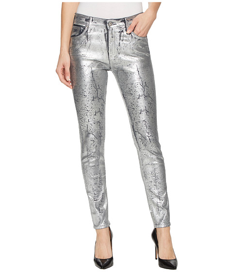 Imbracaminte Femei AG Adriano Goldschmied Farrah Skinny Ankle in Iced Silver Iced Silver