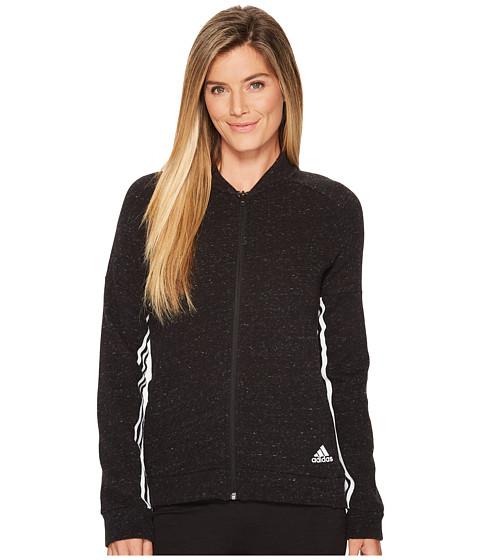 Imbracaminte Femei adidas Sport-2-Street Track Jacket Black MelangeBlack
