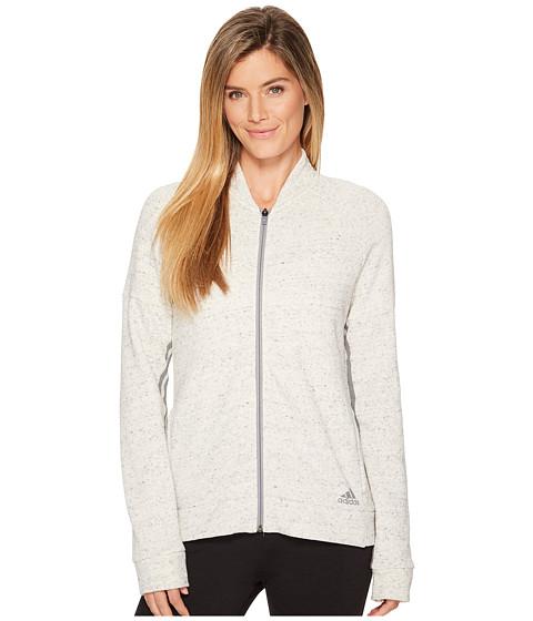 Imbracaminte Femei adidas Sport-2-Street Track Jacket White MelangeWhite
