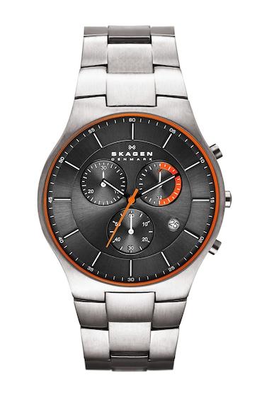 Ceasuri Barbati Skagen Mens Akiv Chronograph Bracelet Watch 42mm NO COLOR