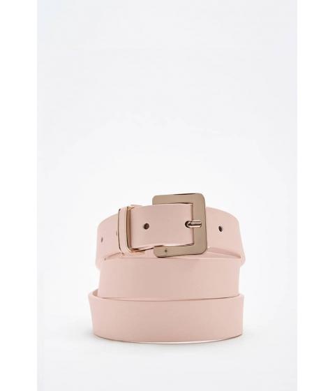 Accesorii Femei Forever21 Faux Leather Belt PINK