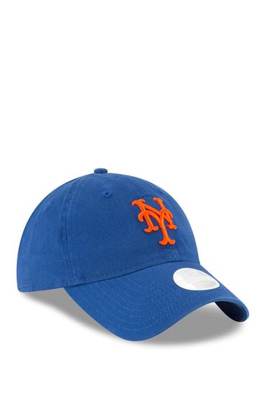 Accesorii Femei New Era Cap Essential LS 920 New York Mets Baseball Cap BLUE