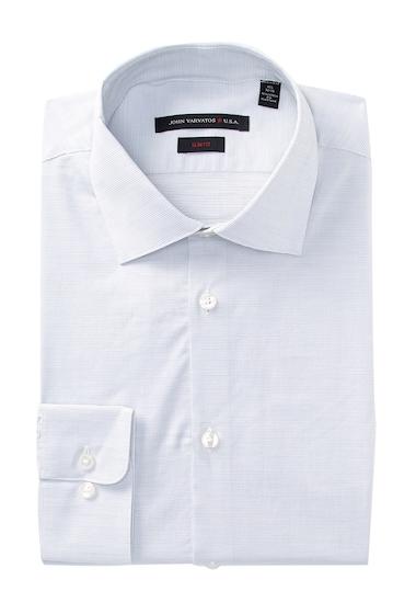 Imbracaminte Barbati John Varvatos Micro Dobby Slim Fit Dress Shirt WHITE