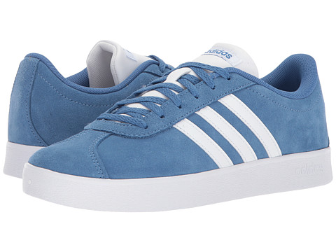 Incaltaminte Fete adidas Kids VL Court 2 (Little KidBig Kid) Trace RoyalWhiteGrey 2