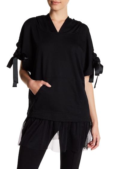 Accesorii Femei Steve Madden Apres Barre Hooded Pullover BLACK