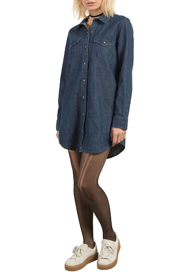 Imbracaminte Femei Volcom Cham Jam Chambray Shirtdress DEEP WATER