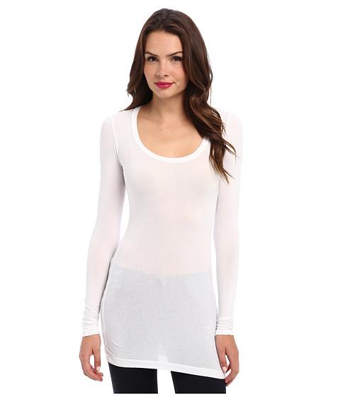 Imbracaminte Femei Splendid Stretch Sheer Layers Tunic White