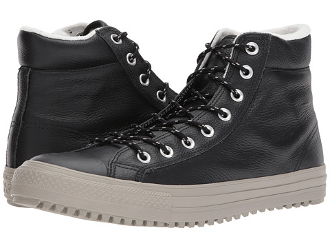 Incaltaminte Barbati Converse Chuck Taylorreg All Starreg Boot PC Tumbled Leather Hi BlackBlackMalted