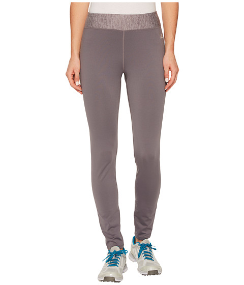 Imbracaminte Femei adidas Golf Fleece Leggings Trace Grey