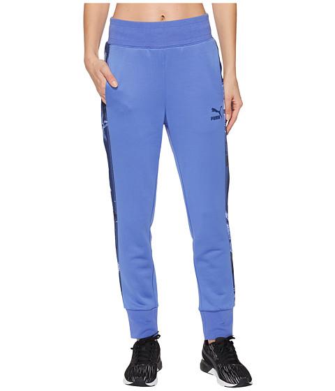 Imbracaminte Femei PUMA Archive T7 Track Pants Baja Blue