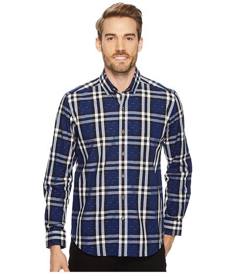 Imbracaminte Barbati Robert Graham Auden Long Sleeve Woven Shirt Navy