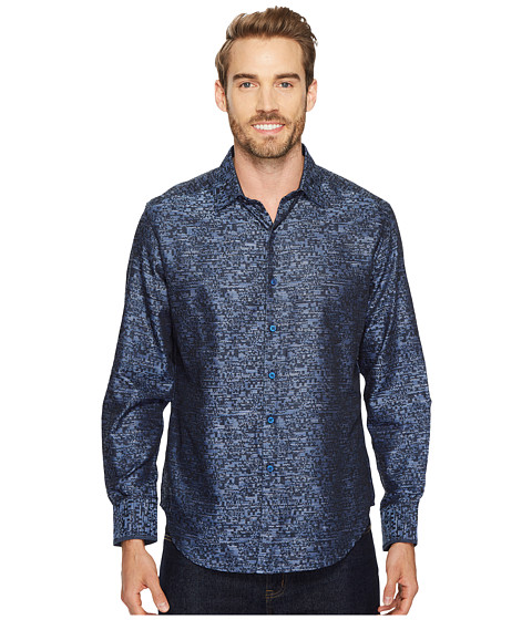 Imbracaminte Barbati Robert Graham Tern Long Sleeve Woven Shirt Indigo