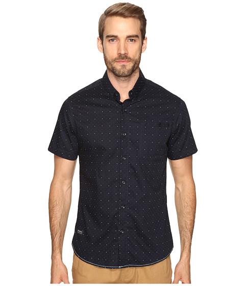 Imbracaminte Barbati 7 Diamonds Empire Short Sleeve Shirt Navy
