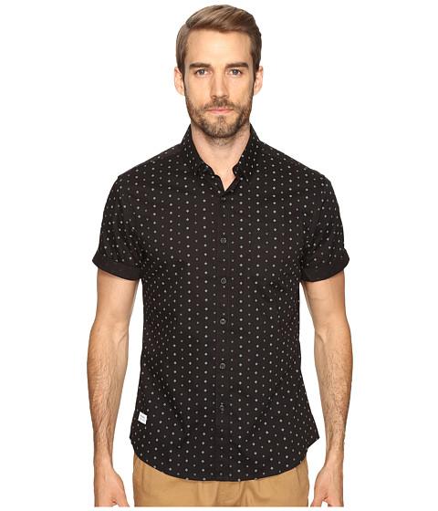 Imbracaminte Barbati 7 Diamonds Downtown Short Sleeve Shirt Black