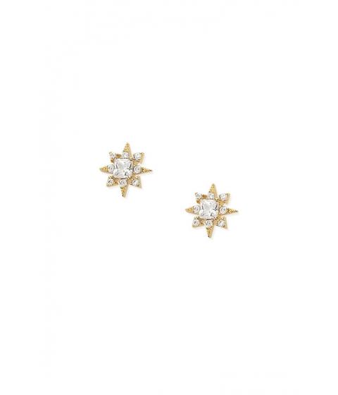 Bijuterii Femei Forever21 CZ Starburst Stud Earrings GOLDCLEAR