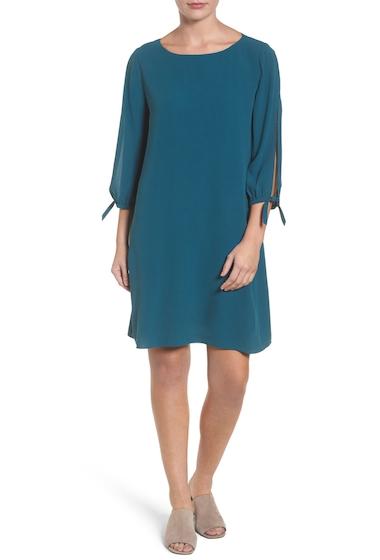 Imbracaminte Femei Eileen Fisher Silk Shift Dress Regular Petite BLSPR