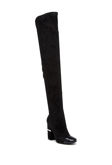 Incaltaminte Femei Marc Fisher LTD Petel 3 Over-the-Knee Boot BLMFB
