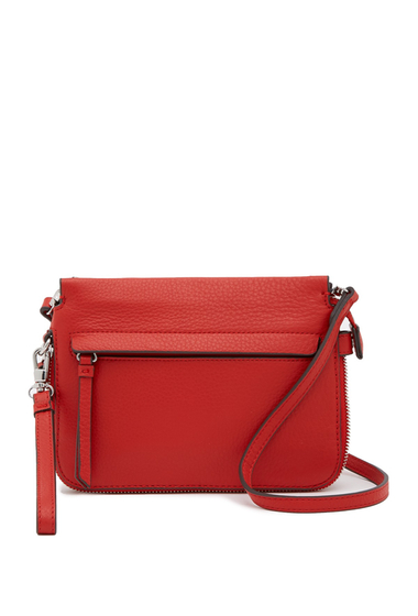 Genti Femei Vince Camuto Edsel Small Leather Crossbody Bag RED 01