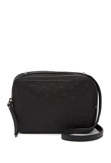 Genti Femei Vince Camuto Belia Leather Crossbody Bag NOIR 01