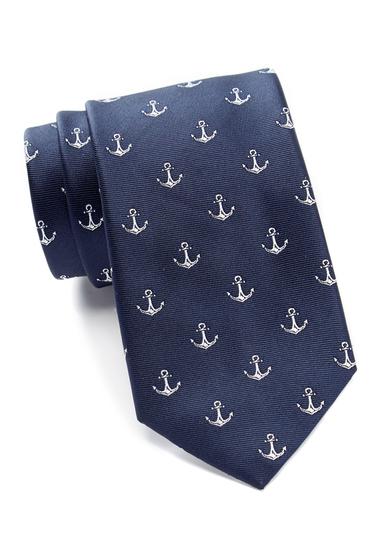 Accesorii Barbati Nautica Woven Anchor Tie DARK NAVY