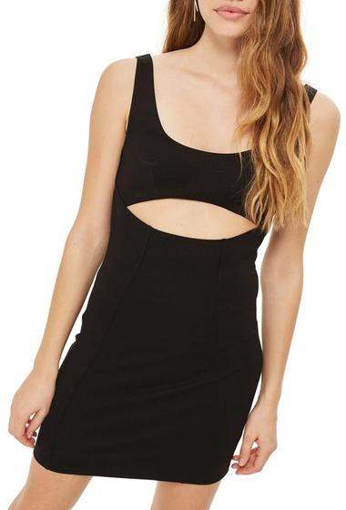 Imbracaminte Femei TOPSHOP Cutout Body-Con Minidress BLACK