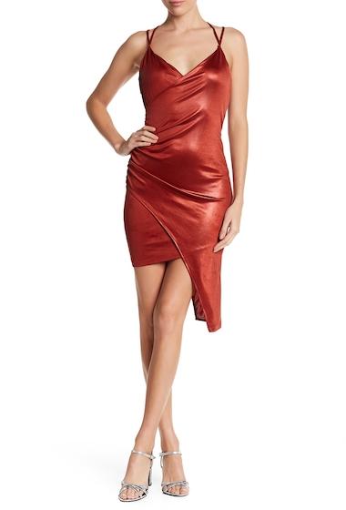 Imbracaminte Femei Lush Slinky Asymmetrical Party Dress RUST