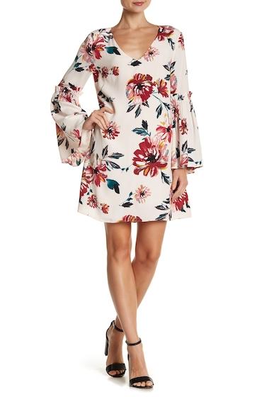 Imbracaminte Femei 1State Bell Sleeve Swing Dress PINK OPAL