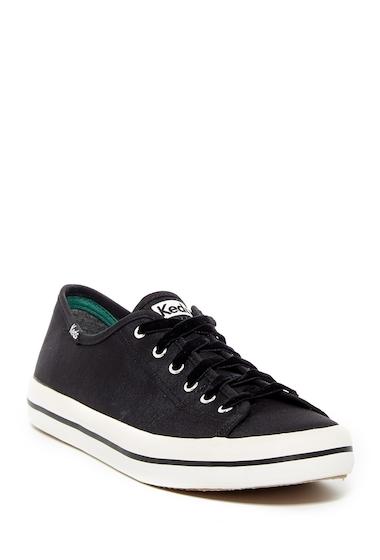 Incaltaminte Femei Keds Kickstart Slub Satin Sneaker - Wide Width Available BLACK