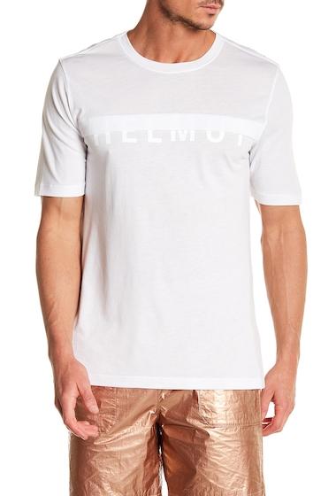Imbracaminte Barbati Helmut Lang Short Sleeve Half Logo Tee OPTIC WHT