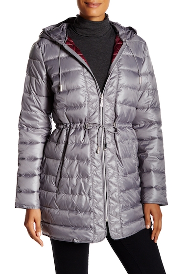 Imbracaminte Femei Kenneth Cole New York Packable Quilted Jacket NICKEL