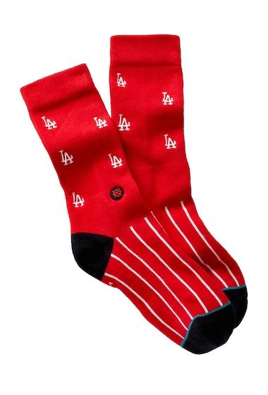 Accesorii Barbati Stance 1955 LA Socks RED