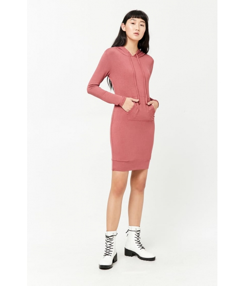 Imbracaminte Femei Forever21 French Terry Knit Dress BERRY