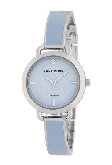 Ceasuri Femei AK Anne Klein Womens Diamond Bracelet Watch 30mm NO COLOR