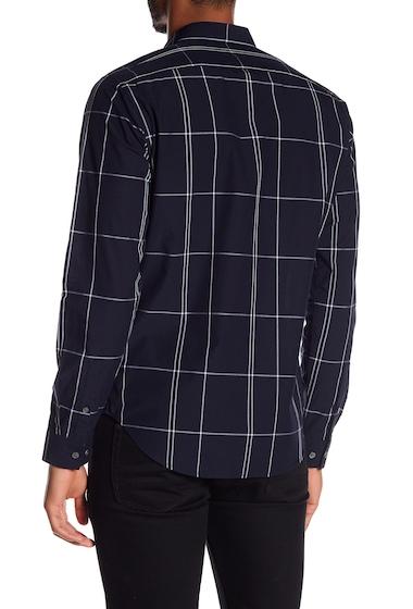Imbracaminte Barbati Theory Grid Print Regular Fit Shirt ECLIPSE