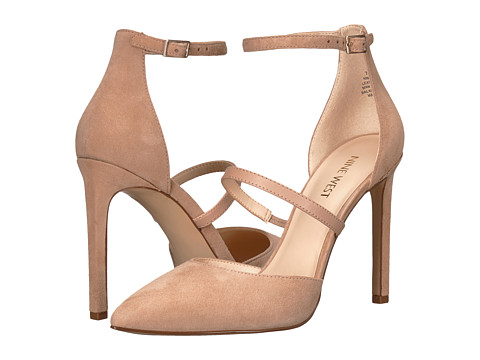 Incaltaminte Femei Nine West Trinette Barely NudeBarely NudeBarely Nude Isa Kid SuedeDress Calf PU