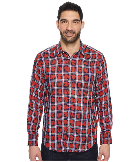 Imbracaminte Barbati Robert Graham Nassau Long Sleeve Woven Shirt Red