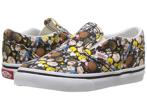Incaltaminte Fete Vans Classic Slip-On x Peanuts (InfantToddler) (Peanuts) The GangBlack