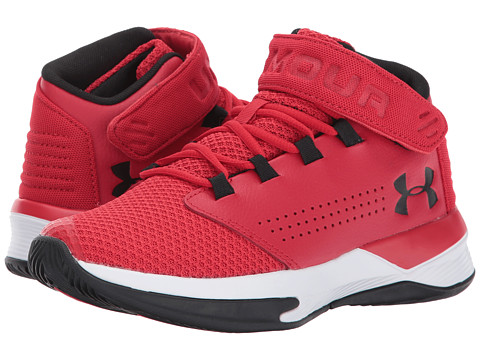 Incaltaminte Baieti Under Armour UA BGS Get B Zee Basketball (Big Kid) RedWhiteBlack