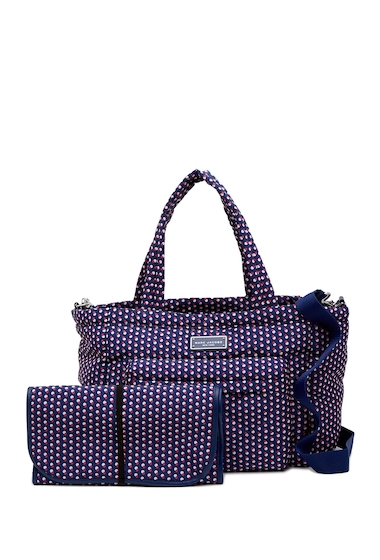 Genti Femei Marc Jacobs Quilted Geo Spot Baby Bag Changing Pad BLUE PRINT MULTI