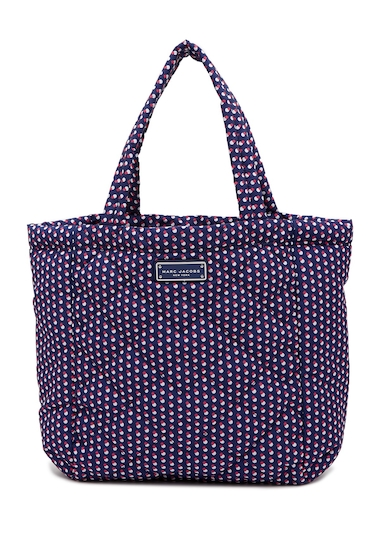 Genti Femei Marc Jacobs Quilted Geo Spot Tote BLUE PRINT MULTI