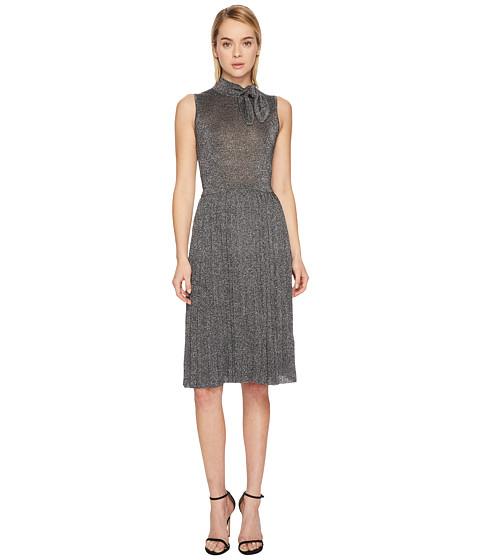 Imbracaminte Femei Kate Spade New York Metallic Knot Sweater Dress Dark Silver