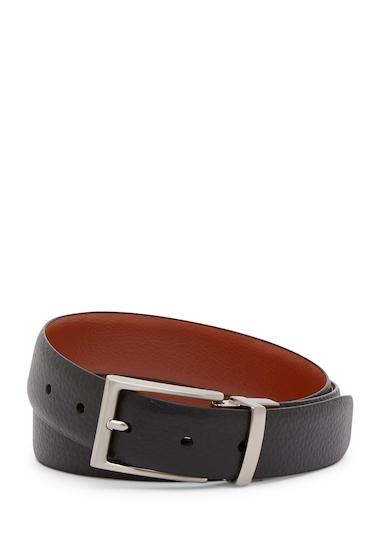 Accesorii Barbati Robert Graham Undercliff Reversible Leather Belt BLACKCOGN