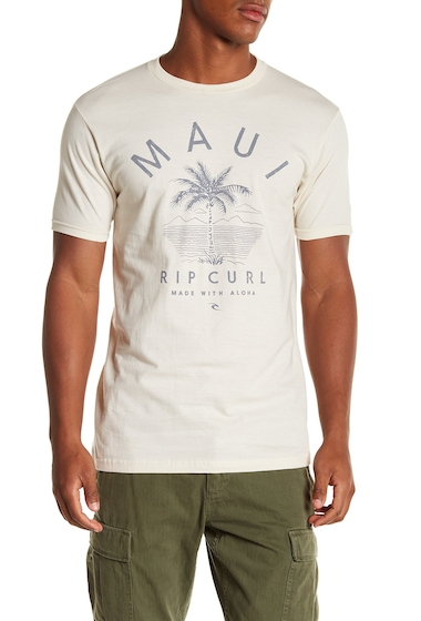Imbracaminte Barbati Rip Curl Maui Front Graphic Print Standard Fit Tee DTW