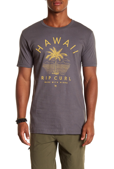 Imbracaminte Barbati Rip Curl Hawaii Standard Fit Tee CHA