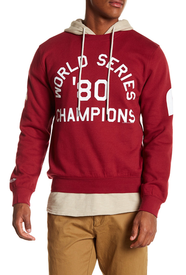 Imbracaminte Barbati Mitchell Ness 1980 World Series Champions Philadelphia Phillies Sweatshirt PHILADELPHIA PHILLIES
