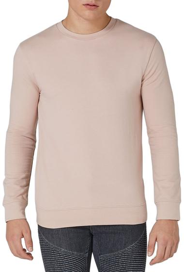 Imbracaminte Barbati TOPMAN Ultra Muscle Fit Sweatshirt PINK