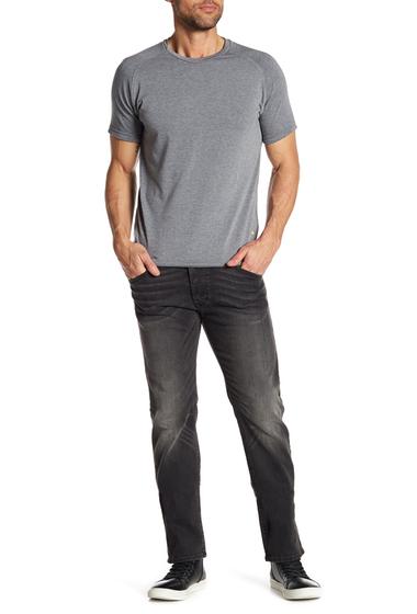 Imbracaminte Barbati Diesel Darron Slim Tapered Jeans BLACKDENIM