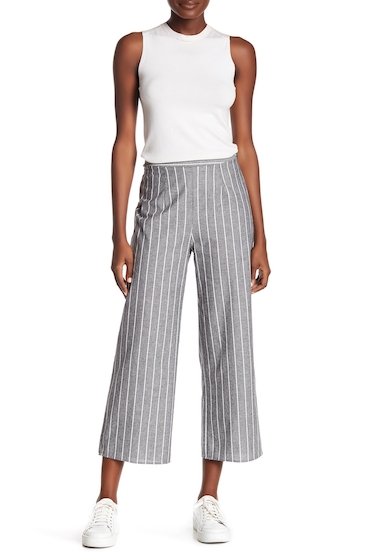 Imbracaminte Femei Abound Striped Woven Pants WASHED BLK PRINT