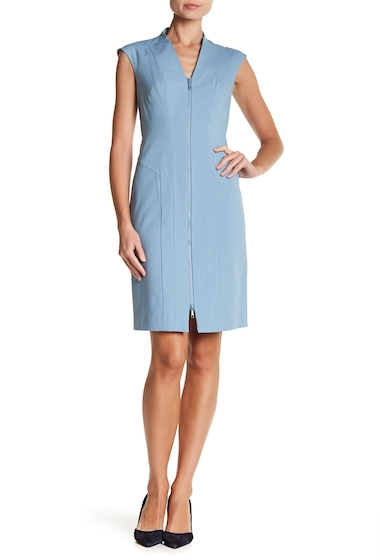 Imbracaminte Femei Lafayette 148 New York Christy Paneled Sheath Dress PORTOFINO